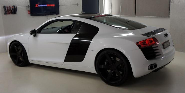 Audi r8 wit