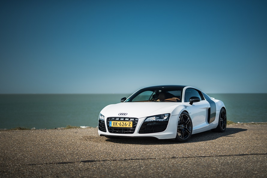 Audi R8 trouwauto huren