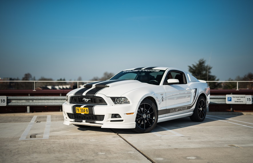 Ford Mustang Coupe trouwauto huren