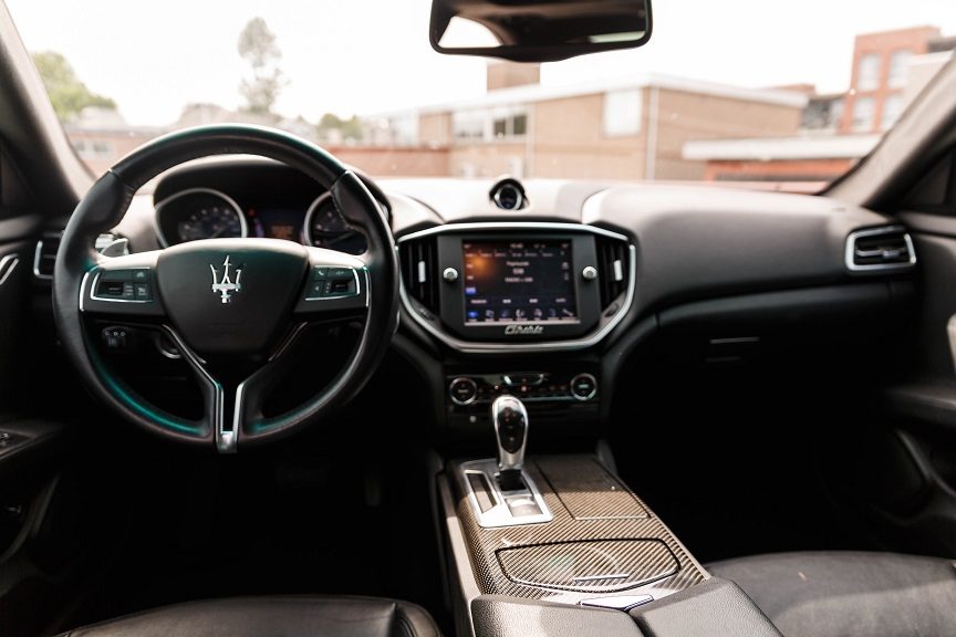 Maserati trouwauto