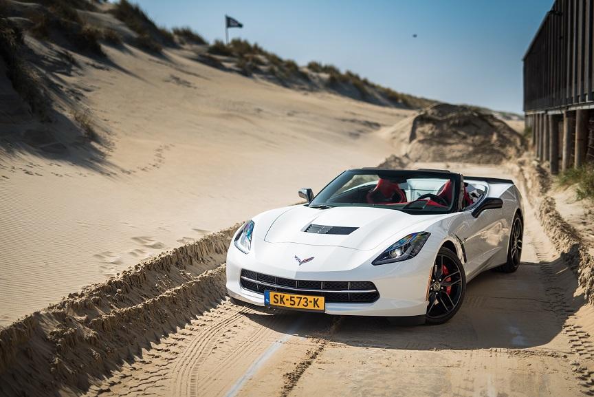 Corvette trouwauto huren