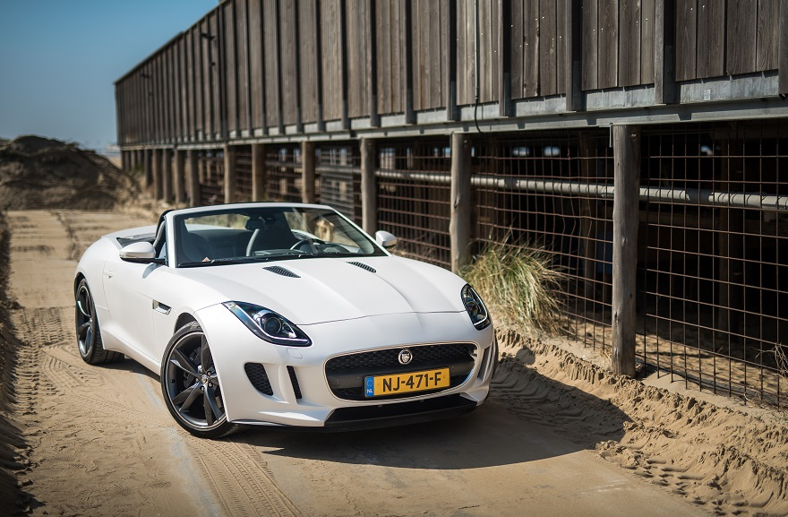 Jaguar F-Type Cabrio trouwauto
