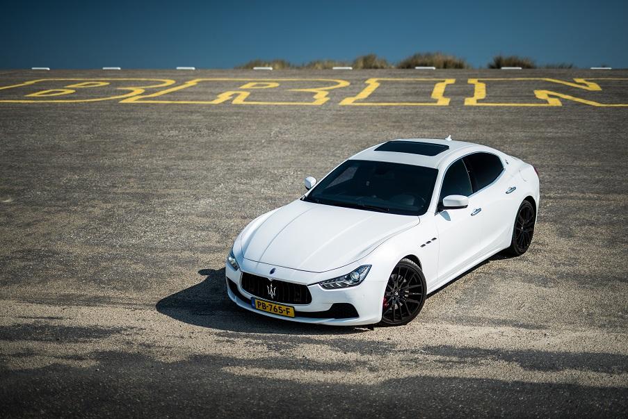 Maserati Ghibli S trouwauto huren