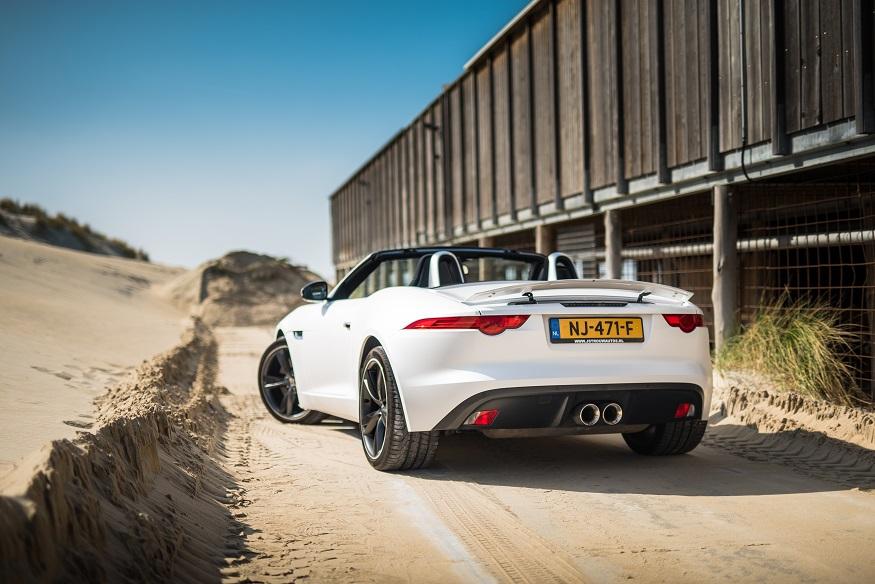 Jaguar F-Type Cabrio trouwauto huren