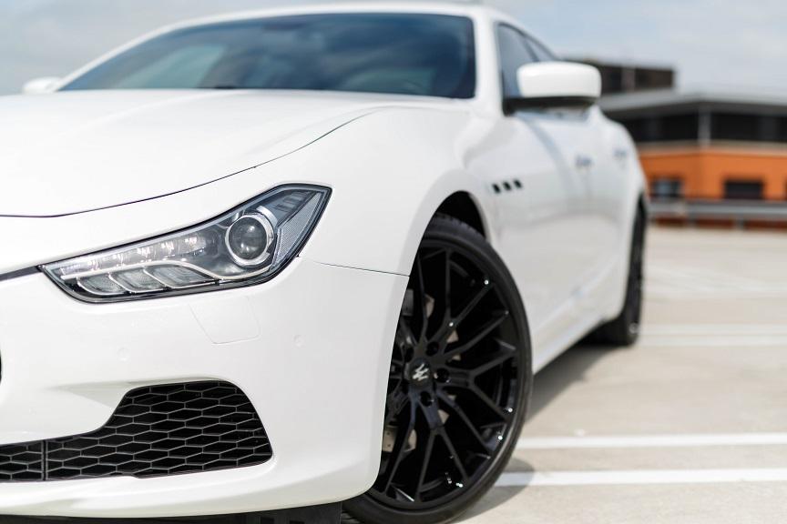 Maserati trouwauto huren