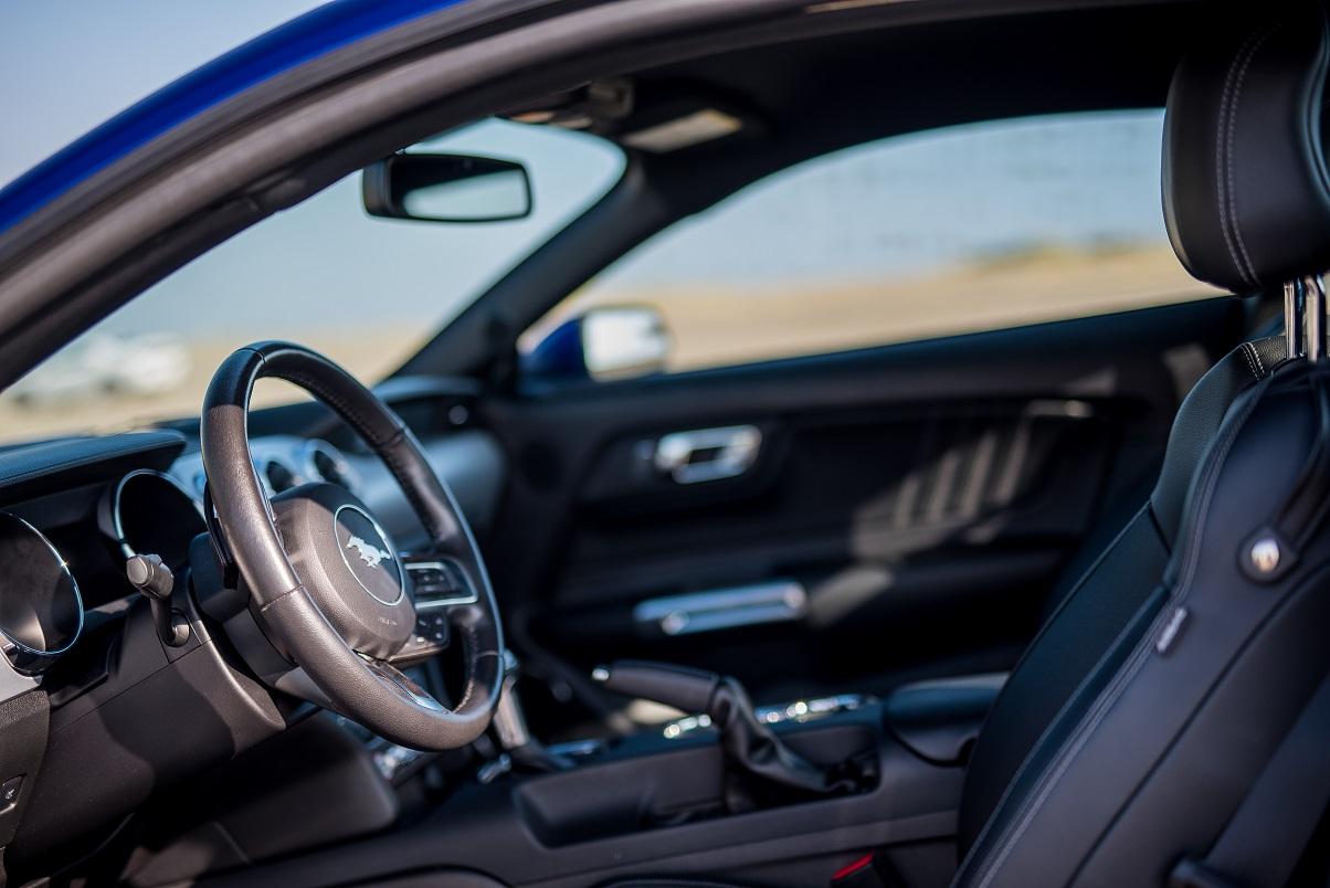 Ford Mustang GT steering wheel