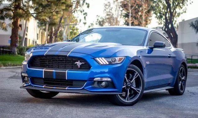 Ford Mustang v8 trouwauto 3