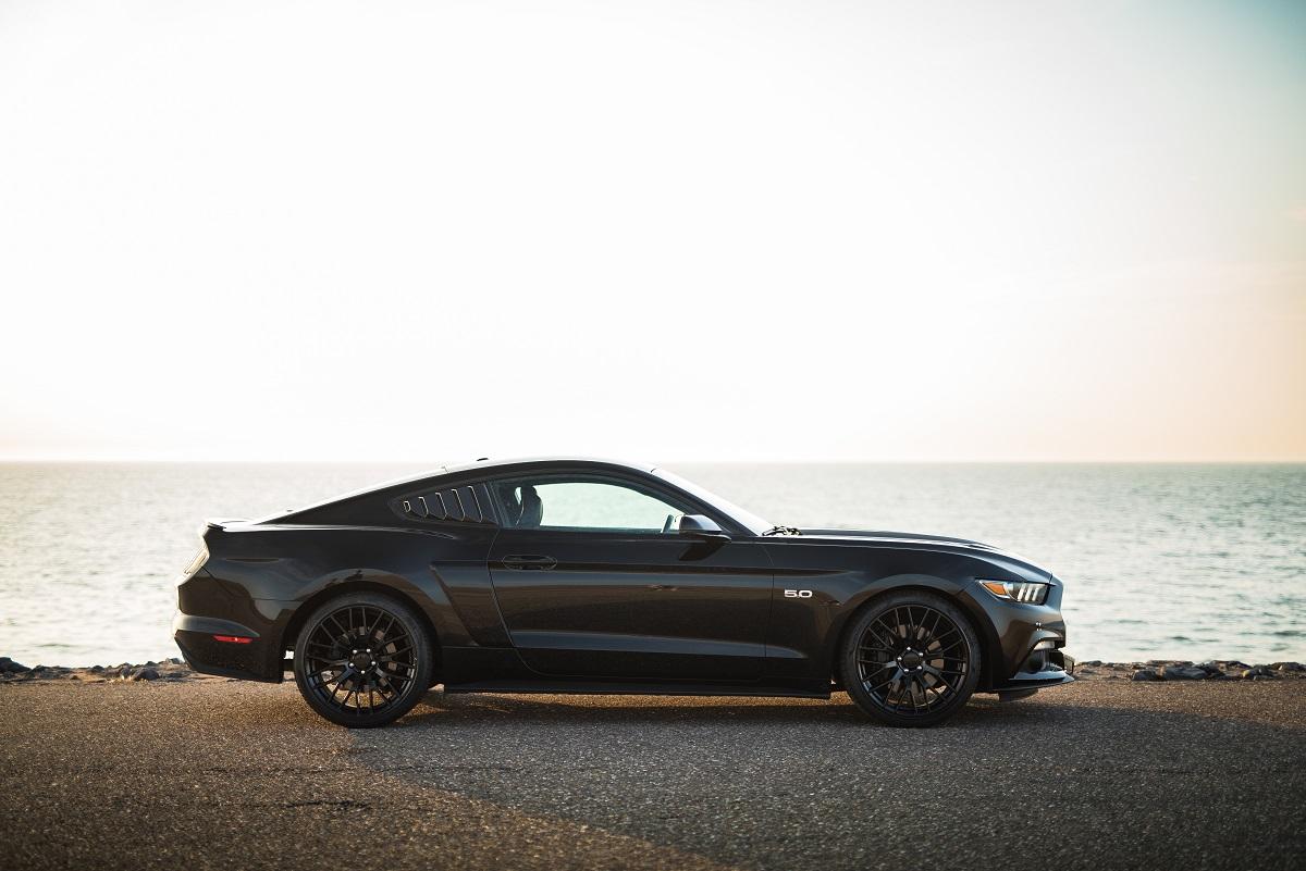 Ford Mustang GT trouwauto huren